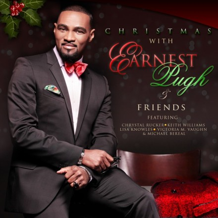 EARNEST PUGH DROPS NEW CHRISTMAS CD OCTOBER 16TH!