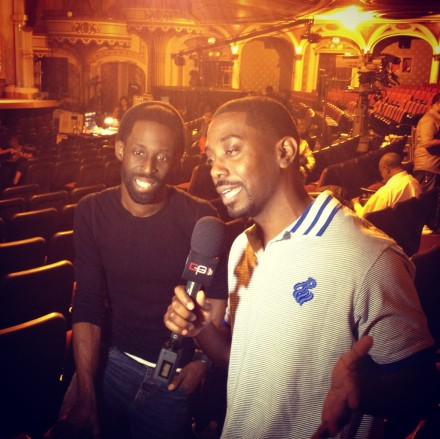 CHECK OUT GERALD JONES AS HE GOES BEHIND SCENES AT BET'S 13TH ANNUAL CELEBRATION OF GOSPEL!