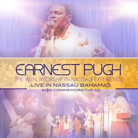 "EARNEST PUGH MAKES A BIG ""W.I.N."" AT #1! TOP 10 GOSPEL CD'S OF THE WEEK!"
