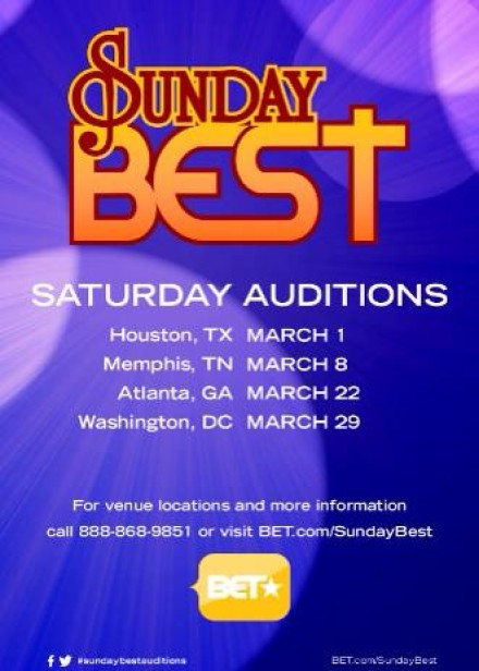 SEASON 7 SUNDAY BEST AUDITIONS START THIS MARCH!