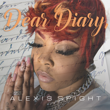 "ALEXIS SPIGHT RELEASES ALBUM COVER AND RELEASE DATE FOR HER SOPHOMORE PROJECT ""DEAR DIARY"""