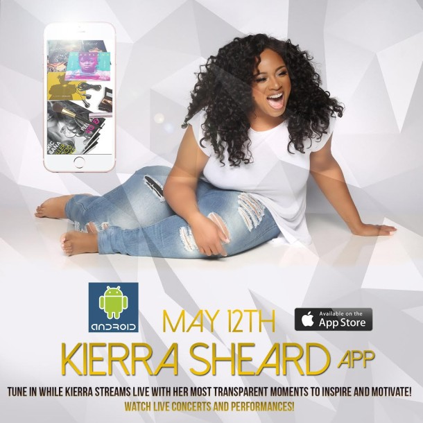 KIERRA SHEARD LAUNCHES NEW APP AND PREPS FOR SOLO TOUR!