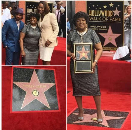 GOSPEL LEGEND, SHIRLEY CAESAR, BECOMES THE 5TH GOSPEL ARTIST TO EVER RECEIVE A STAR ON THE HOLLYWOOD WALK OF FAME